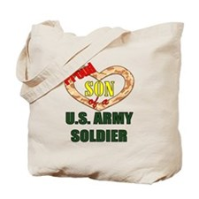 Proud Army Son Tote Bag