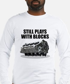 Still Plays With Blocks - Che Long Sleeve T-Shirt
