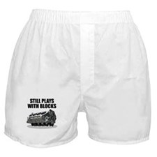 Still Plays With Blocks - Che Boxer Shorts