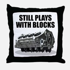 Still Plays With Blocks - Che Throw Pillow