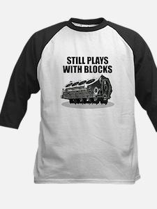 Still Plays With Blocks - Che Kids Baseball Jersey