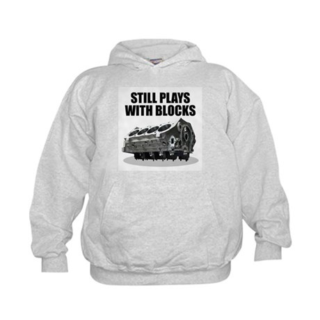 Still Plays With Blocks - Che Kids Hoodie