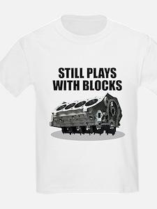 Still Plays With Blocks - Che Kids T-Shirt