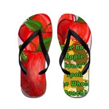ONE-BAD-APPLE-16x20-SMALL-POSTER-_print Flip Flops