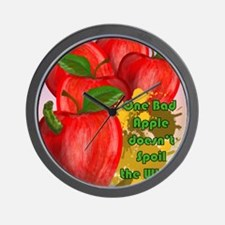 ONE-BAD-APPLE-16x20-SMALL-POSTER-_print Wall Clock