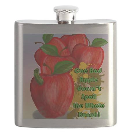 one-bad-apple-TILE-COASTER.gif Flask