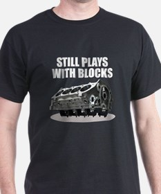 Still Plays With Blocks - Che T-Shirt
