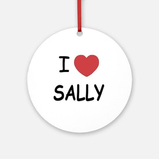 SALLY Round Ornament