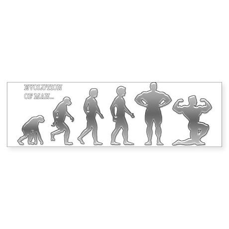 EVOLVE BODYBUILDING Bumper Sticker