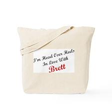 In Love with Brett Tote Bag
