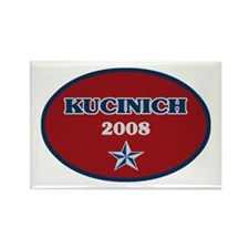Dennis Kucinich 2008 Rectangle Magnet