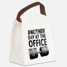 another-day-in-the-office Canvas Lunch Bag