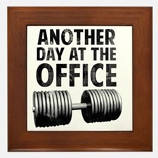 another-day-in-the-office Framed Tile