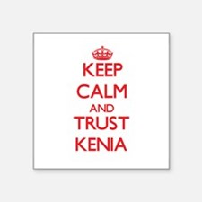 Keep Calm and TRUST Kenia Sticker