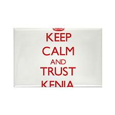 Keep Calm and TRUST Kenia Magnets