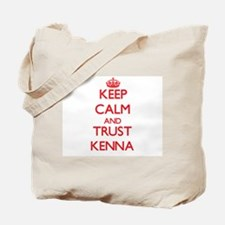 Keep Calm and TRUST Kenna Tote Bag