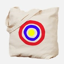 circles primary Tote Bag