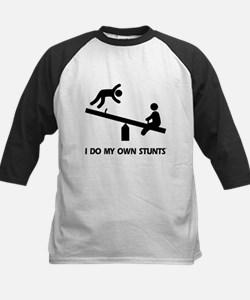 Fall off a see saw. Stunts Tee