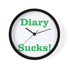 Diary Sucks! Wall Clock