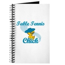 Table Tennis Chick #3 Journal
