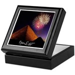 Fireworks Pyramid Classic Inlaid Tile-top Box