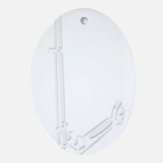 rapidTransitLight Oval Ornament