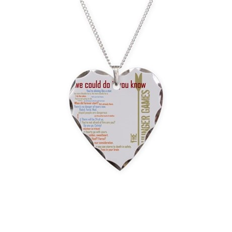we could do it you know with Necklace Heart Charm