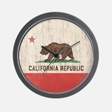 VintageCaliforniaRe1SC Wall Clock