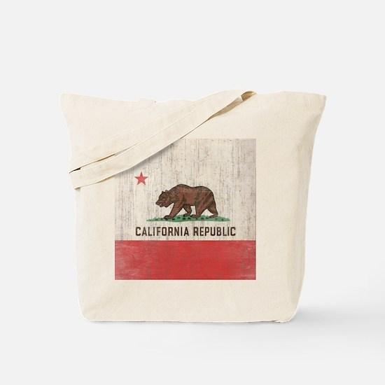 VintageCaliforniaRe1SC Tote Bag