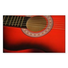 guitar still life Decal