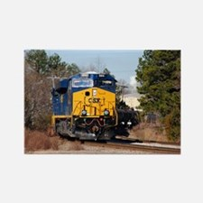 CSX Train 1 Rectangle Magnet