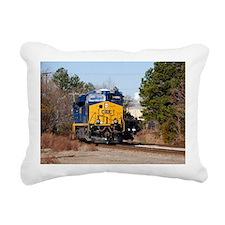 CSX Train 1 Rectangular Canvas Pillow