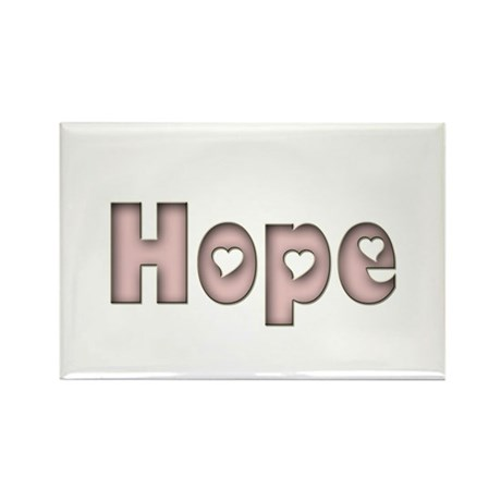 Hope Rectangle Magnet (10 pack)