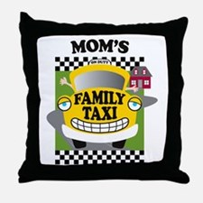 familytaxiMOMK Throw Pillow