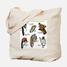 Lemurs of Madagascar Tote Bag