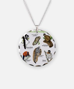 Lemurs of Madagascar Necklace