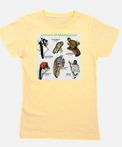 Lemurs of Madagascar Girl's Tee