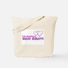 secret little brother or sist Tote Bag