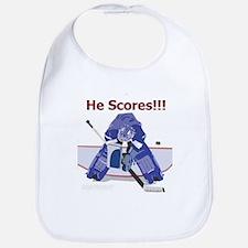 He Scores! Bib