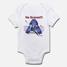 He Scores! Infant Bodysuit