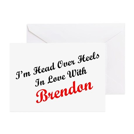 In Love with Brendon Greeting Cards (Pk of 10)