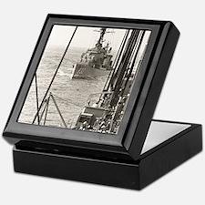 eflarson ddr framed panel print Keepsake Box