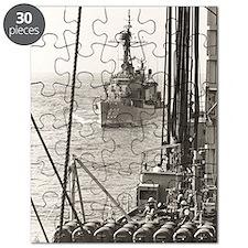 eflarson ddr framed panel print Puzzle