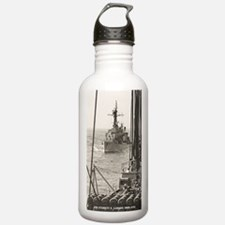 eflarson ddr large fra Water Bottle