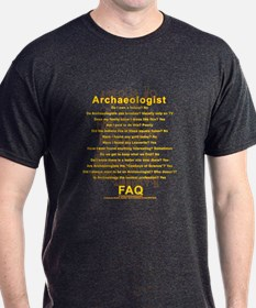 Archaeologist FAQ on Cascajal Block T-Shirt