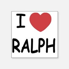 "RALPH Square Sticker 3"" x 3"""