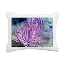 Purple Fingers Rectangular Canvas Pillow