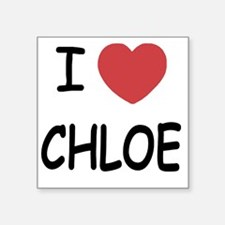 "CHLOE Square Sticker 3"" x 3"""