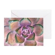 Stone Flower Greeting Card