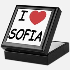 SOFIA Keepsake Box